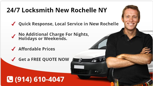 24 Hour Locksmith New Rochelle
